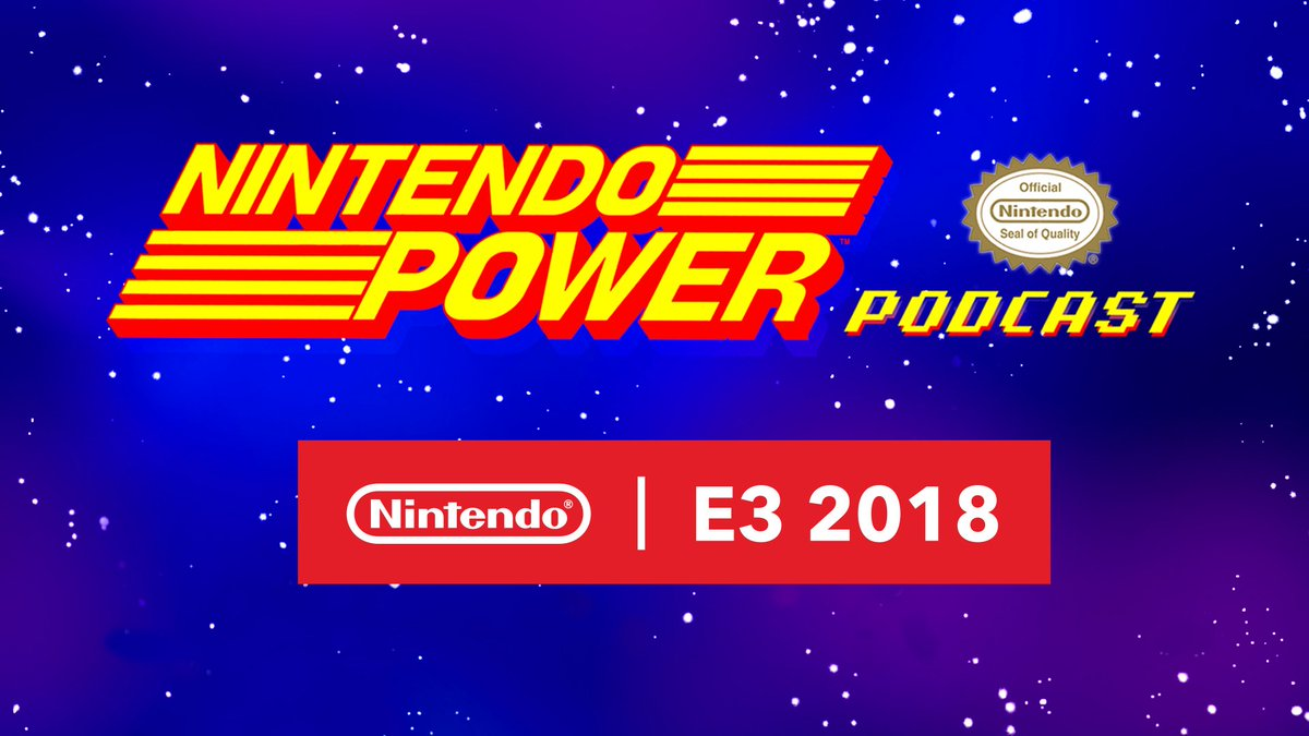 Hear from Reggie in a special #E32018 edition of #NintendoPower Podcast! Plus, a chat with the champion of the Super Smash Bros. Invitational @zerowondering, and more exciting highlights from the show. Listen now! Apple Podcasts: apple.co/2FbDmkM