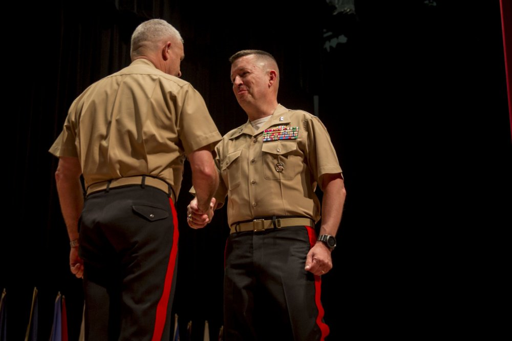 MajGen James W. Bierman, Jr. took on the responsibilities of Marine Corps Recruiting in a change of command ceremony this month. He will be charged with identifying and shaping the next generation of #Marines.   https://t.co/hquKgoTely