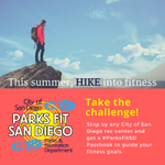 Image for the Tweet beginning: Sign up for the #ParksFitSD