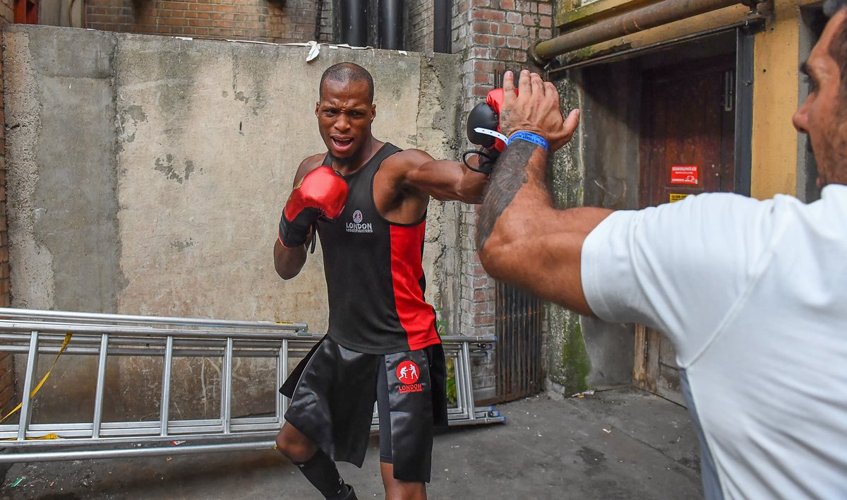 .@Michaelpage247 is ready for war 💥 @davechannel at 9pm. Do not miss it 👊🏾