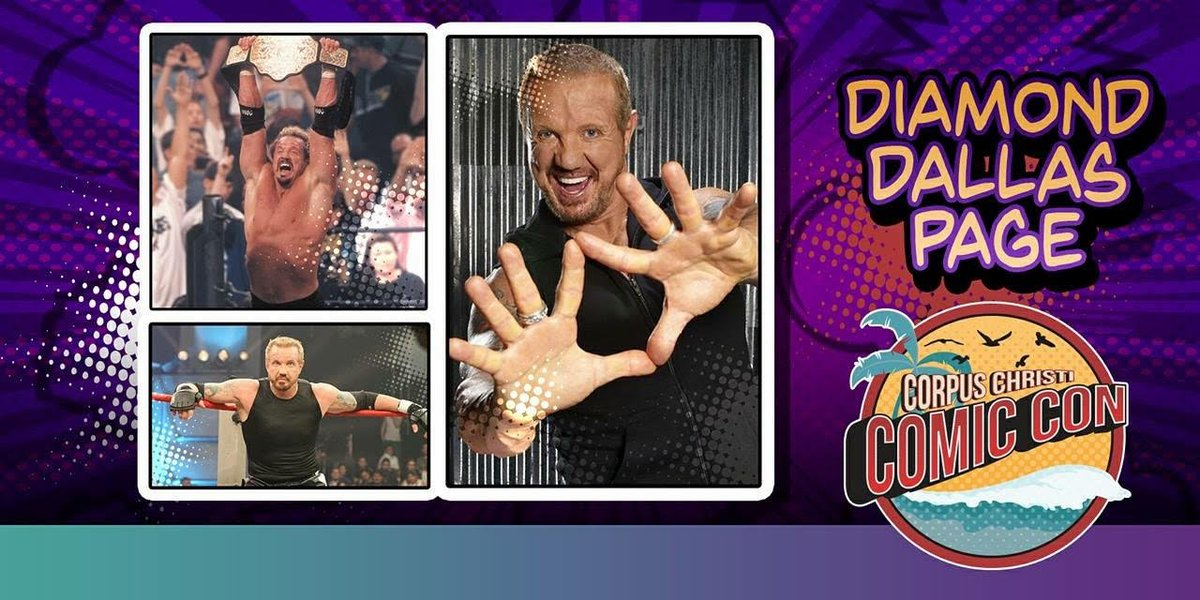 Texas here we come! Cant wait to meet you June 23rd & 24th for @CCTXcomiccon. corpuschristicomiccon.com #CorpusChristiComicCon #C4TX18 #MeetDDP