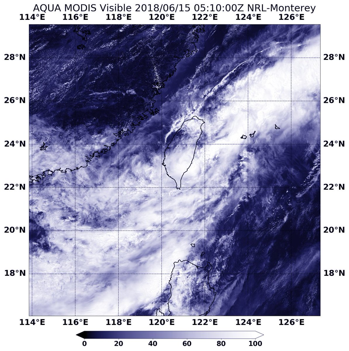 Aqua Satellite Sees Tropical Depression Gaemi Exit Taiwan: Latest