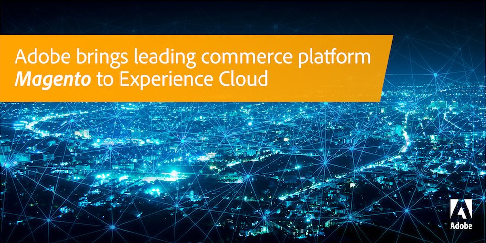 Adobe Experience Cloud + Magento Commerce Cloud enable shopping experiences across the customer journey. Learn more: adobe.ly/2JOos3b