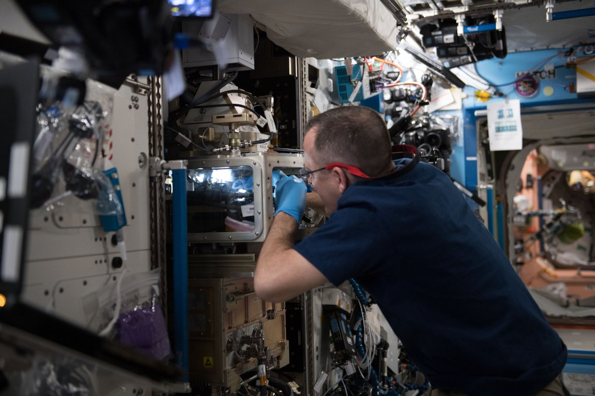 ISS Research on Twitter: \