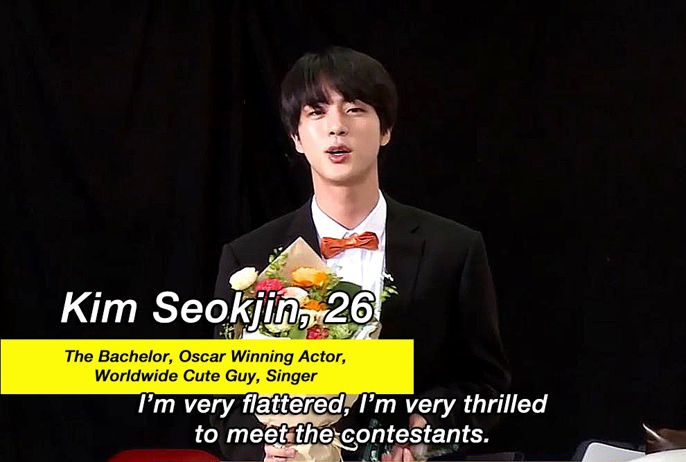 dating seokjin would include