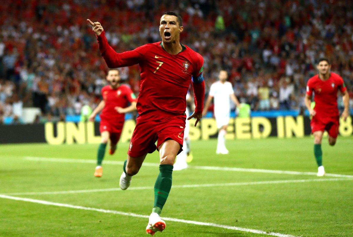 أهداف مباراة البرتغال وإسبانيا كاملة