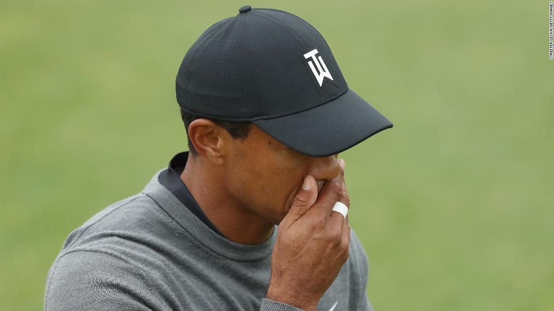 Tiger Woods set to miss cut and Dustin Johnson leads in US Open https://t.co/HI1A9dxhgh https://t.co/beLJFNZdxQ
