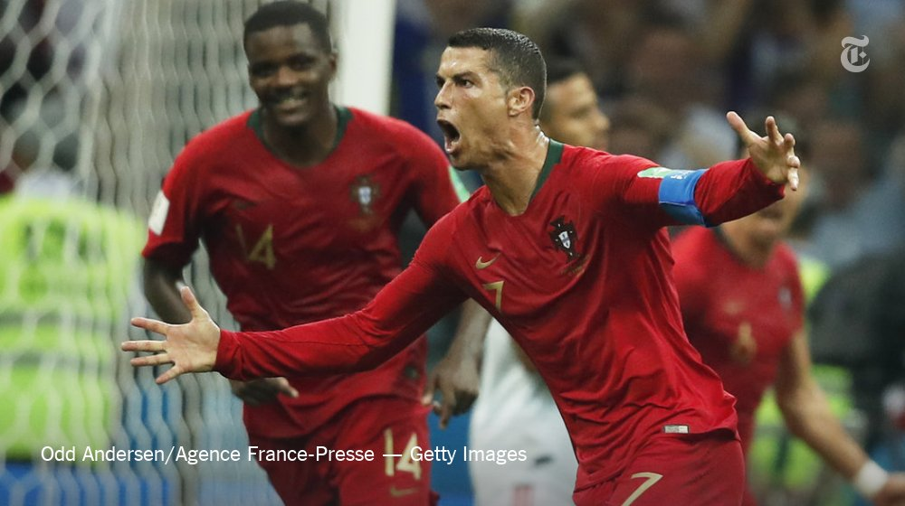 Cristiano Ronaldo won the day. His team had to settle for a tie. https://t.co/h1H9azyUDr https://t.co/zBjrFdOkbS