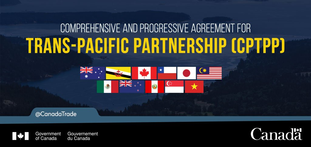 Canada Trade On Twitter Under The Cptpp Canadian Investors Will
