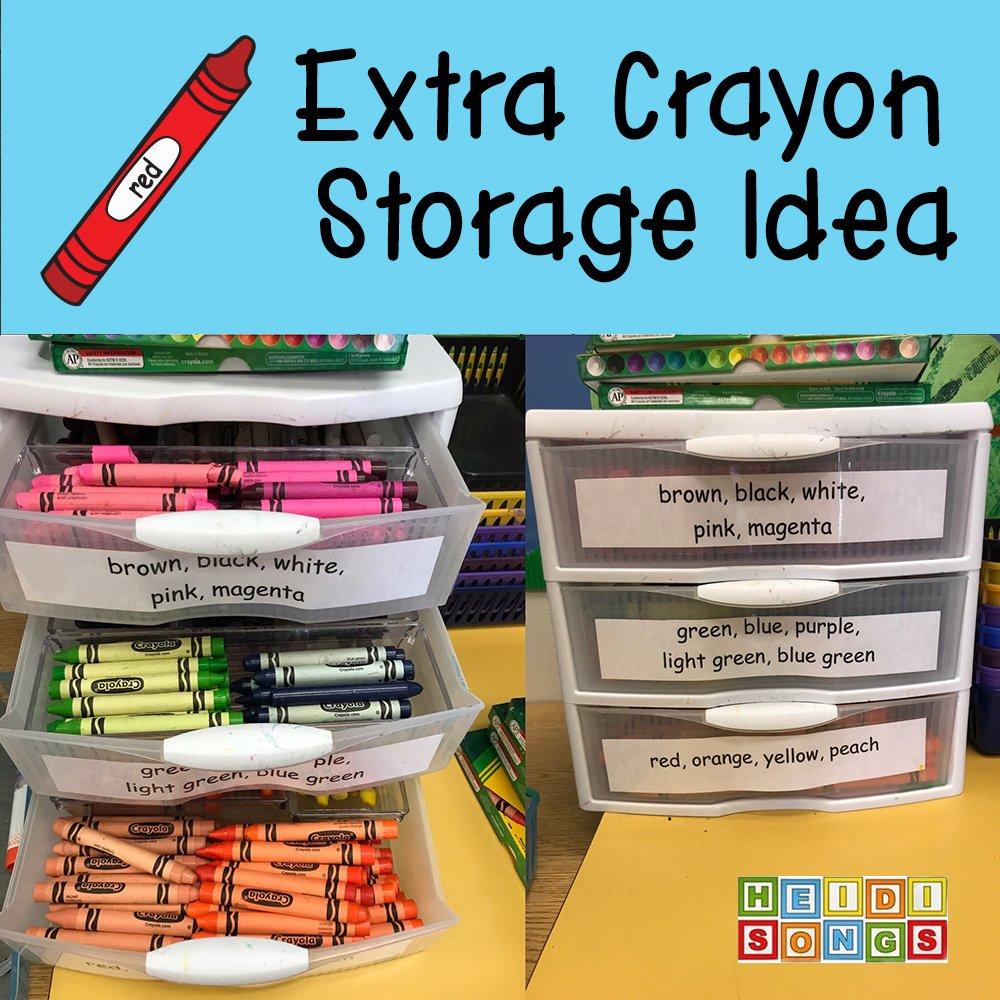 heidisongs on twitter i love my extra crayon organizer it makes