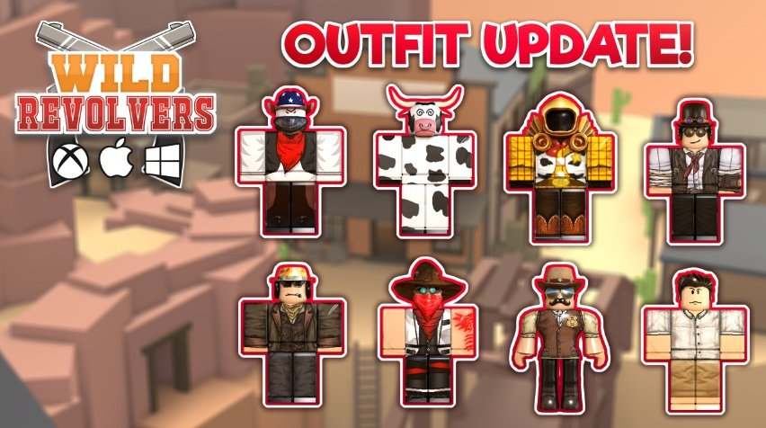 Roblox Codes For Wild Revolver To Get Coins Novaly Studios On Twitter Today A New Wild Revolvers Update Roblox Wildrevolvers