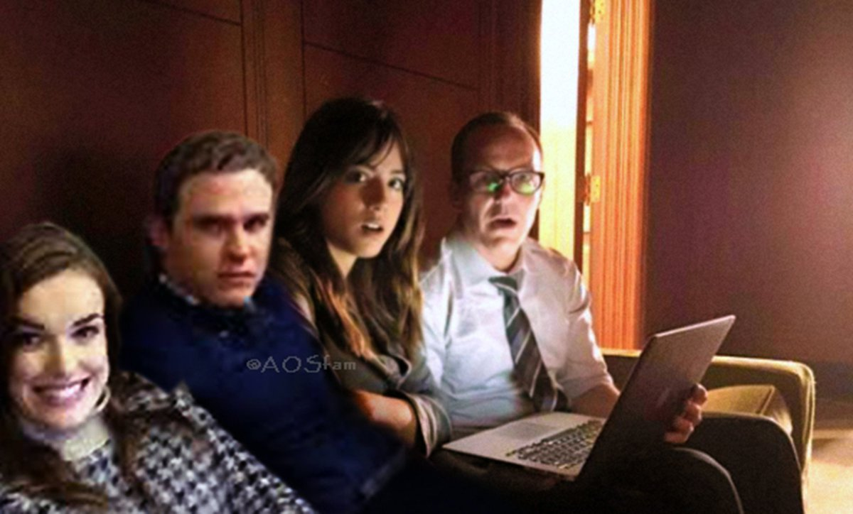 When Dad and his (Bus) Kids are planning for a secret, surprise trip for the whole familt, but then Mom discovered them.  OMG.  #Philinda Fam Bam #FitzSkimmons #AgentsofSHIELD #PapaCoulson #FathersDay