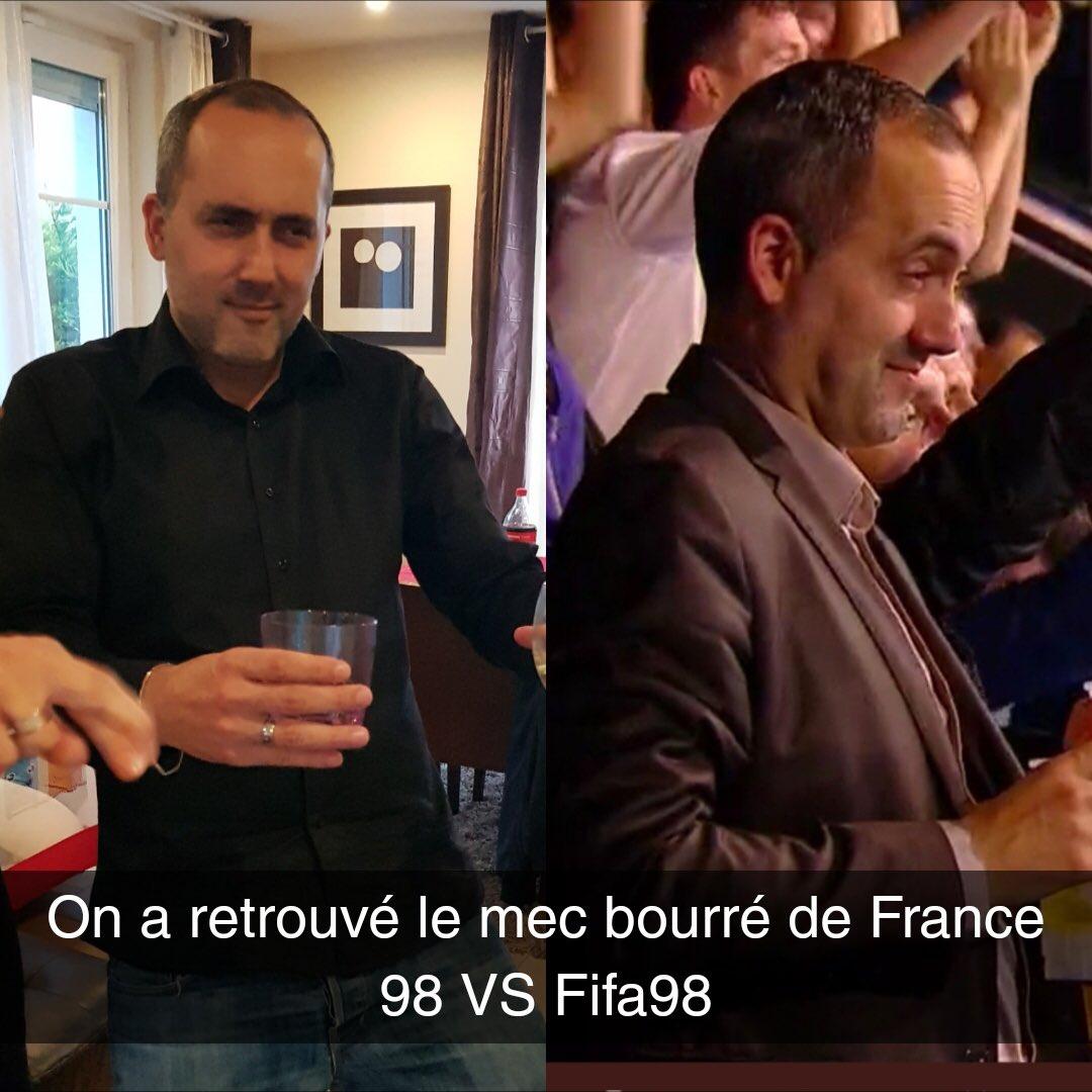 @Qofficiel j'ai retrouvé le mec de #France98VsFifa98   - FestivalFocus