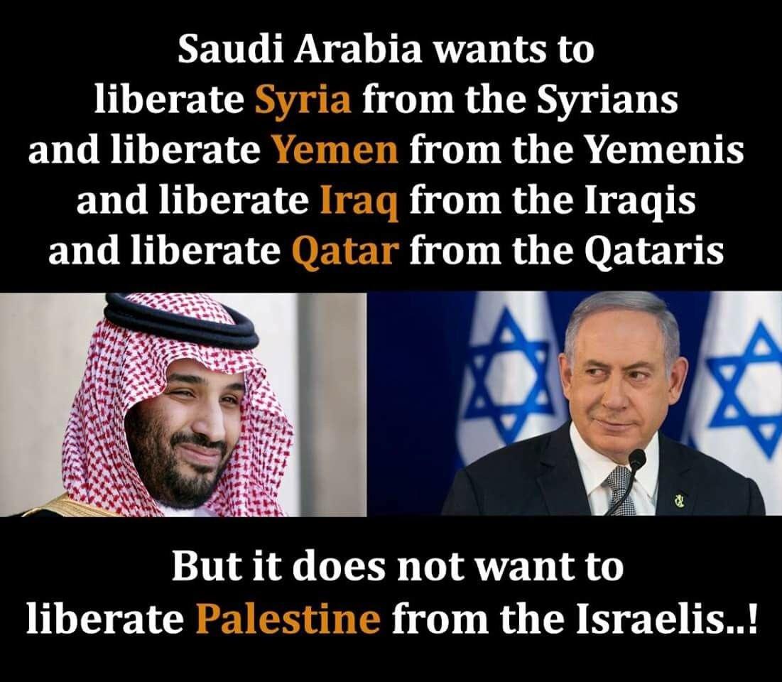 Hypocrite @MOF_KSA @IsraeliPM @USEmbassySyria @YemenPeaceNews @UNIraq @VisitQatar @ALQadiPAL https://t.co/P8kVwVRsTD