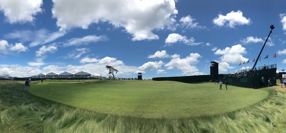 #USOpen2018 checklist: perfect the golf clap ✅ meet daily steps goal (twice) ✅ eat allll the short ribs ✅