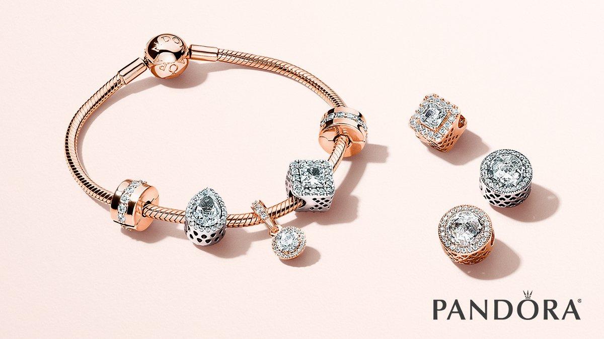 bracelet or rose pandora