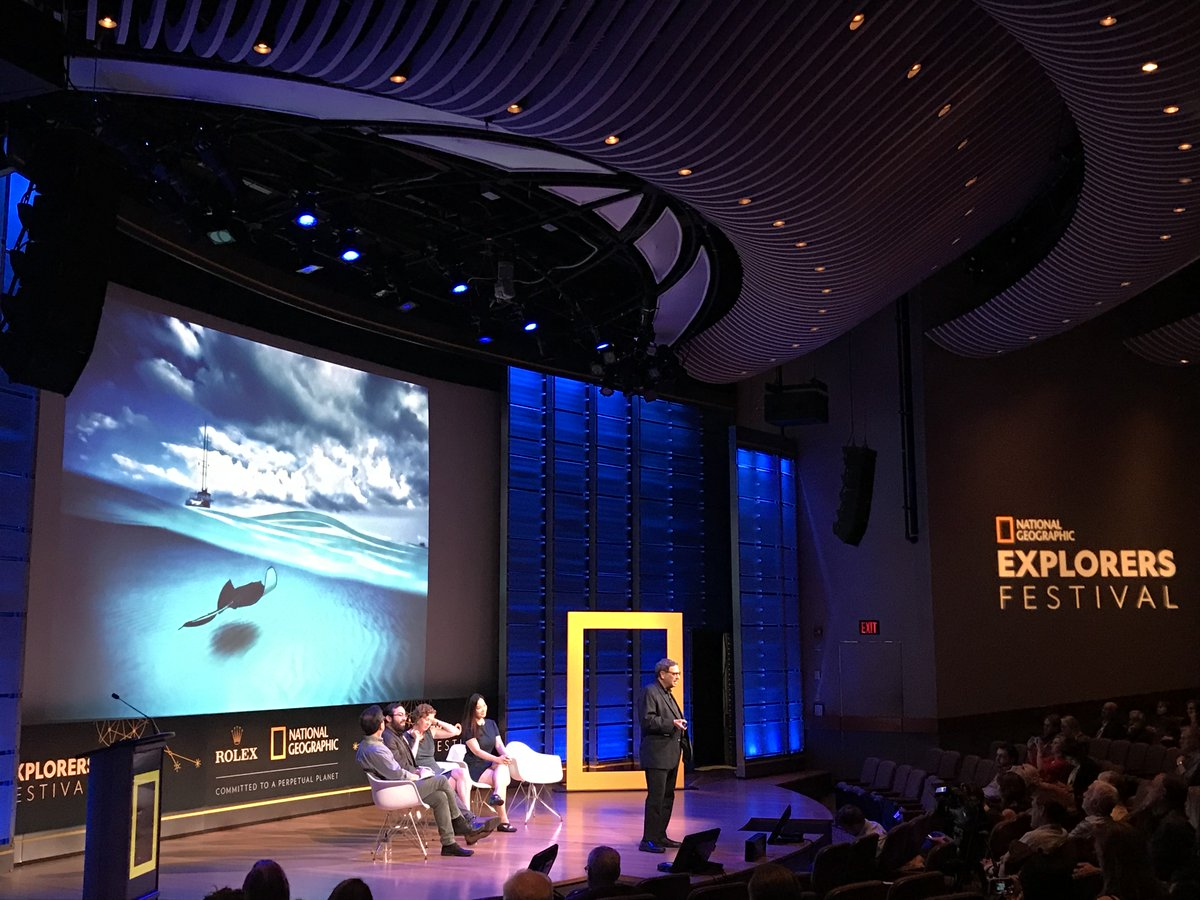 If you want to protect nature, you first have to love it. And if you want to love it, you first have to understand it. And if you want to understand it, you first have to see it, says @DavidDoubilet #NatGeoFest