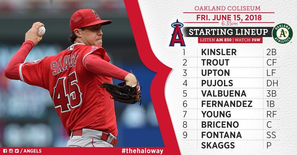 .@TylerSkaggs37 looks to stay hot in opener vs. A's.  Game Preview: https://t.co/WNDMaDXHNP https://t.co/hh9oVc5RjZ