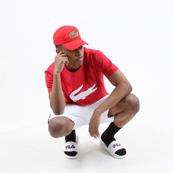 6148964988b389 #shopaao #lacoste #fila #fashion #mensfashion #red #white #cap #shirt  #pants #trend #simple #comfy #ootd #menswear #fleek  #thoughtspic.twitter.com/ ...