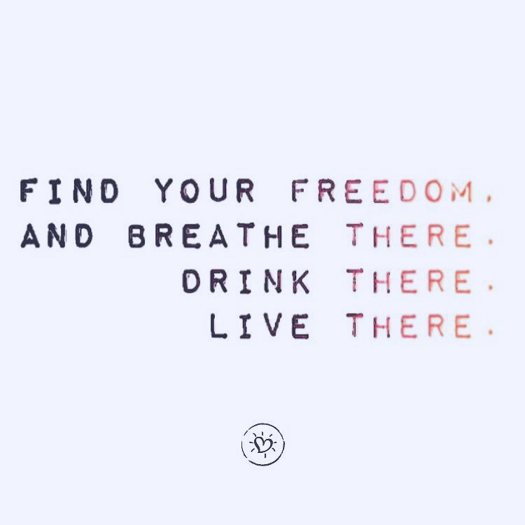Find your freedom. Drink the wild air. Play in the sea.  Road trip without destination. Open yourself to newness. Count the stars.  Trust love.  Be unabashedly you. #freedomfriday #projecthappiness <br>http://pic.twitter.com/VUGTQ9M0gl