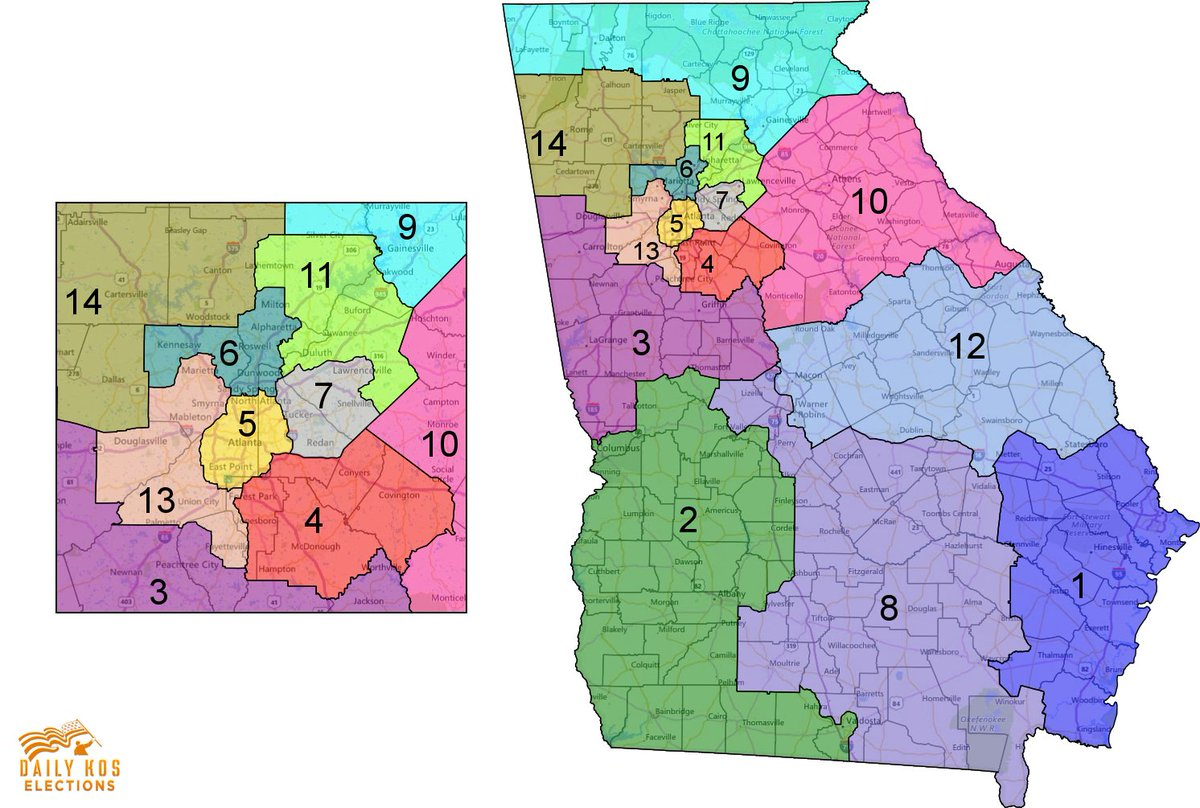 Map Of Georgia Congressional Districts 2014.Stephen Wolf On Twitter Dems Argue The Gop Should Ve Been Forced