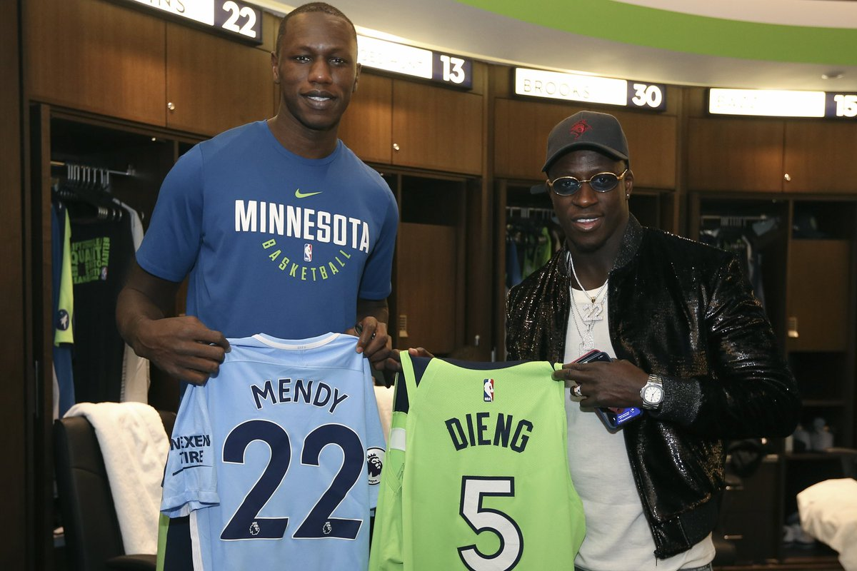 Bonne chance to our dude @benmendy23 and #FRA at the #WorldCup tomorrow!