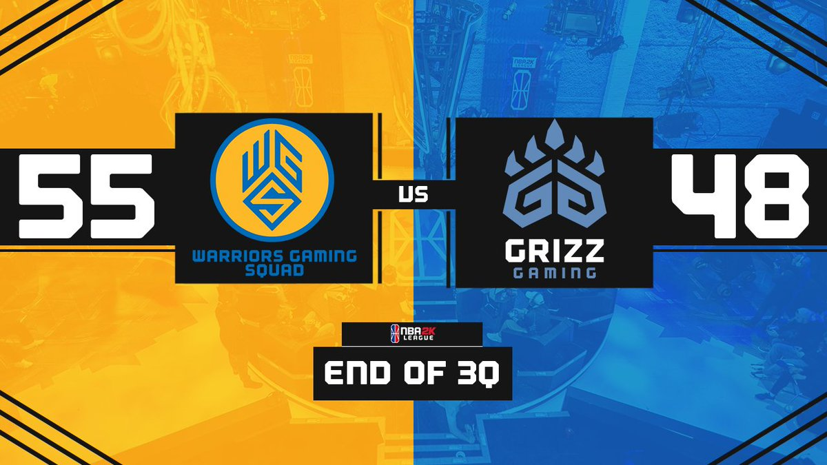 Making our comeback #WGSWIN #WarriorsGaming #NBA2KLeague