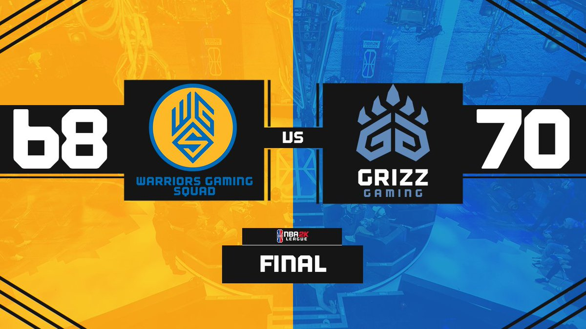That sure was a nail biter. GG @GrizzGaming! Well be back next week taking on @blazer5gaming #WGSWIN #WarriorsGaming #NBA2KLeague