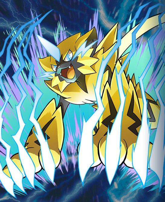 Mythical Pokemon Zeraora on JumPic com