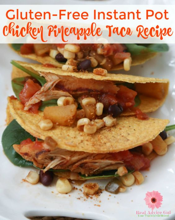 Tasty and easy #GlutenFree Instant Pot Chicken Pineapple Taco #Recipe https://t.co/I9vY1tzvw0 https://t.co/f7l69PPlMq