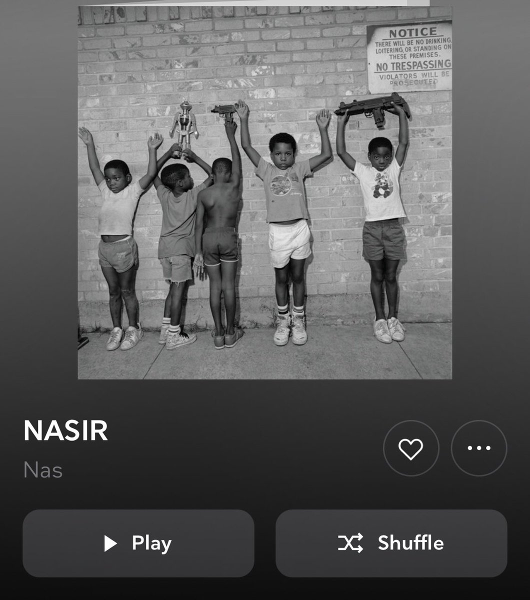 Let's see what's up with this new Nas album... #Nasir #nowplaying #tidal
