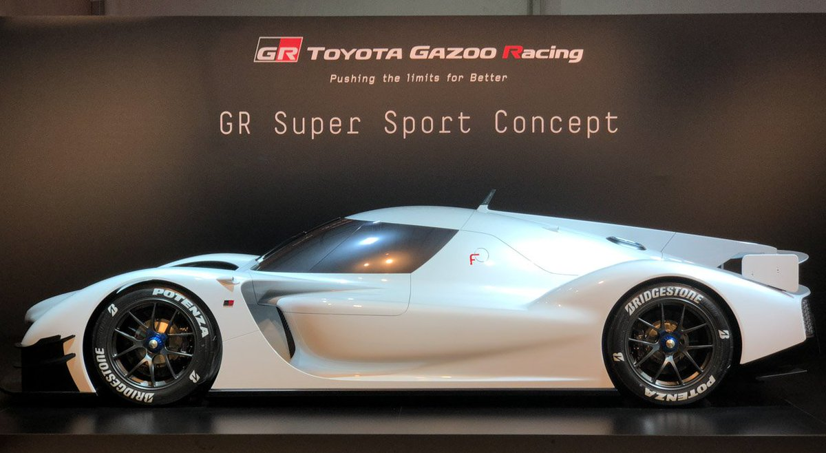 Theawesomer On Twitter Toyota Gr Super Sport Concept Leading Up To The 2018 24 Hours Of Le Mans Race Toyota S Gazoo Racing Took Wraps Off A Badass Street Supercar Built On The