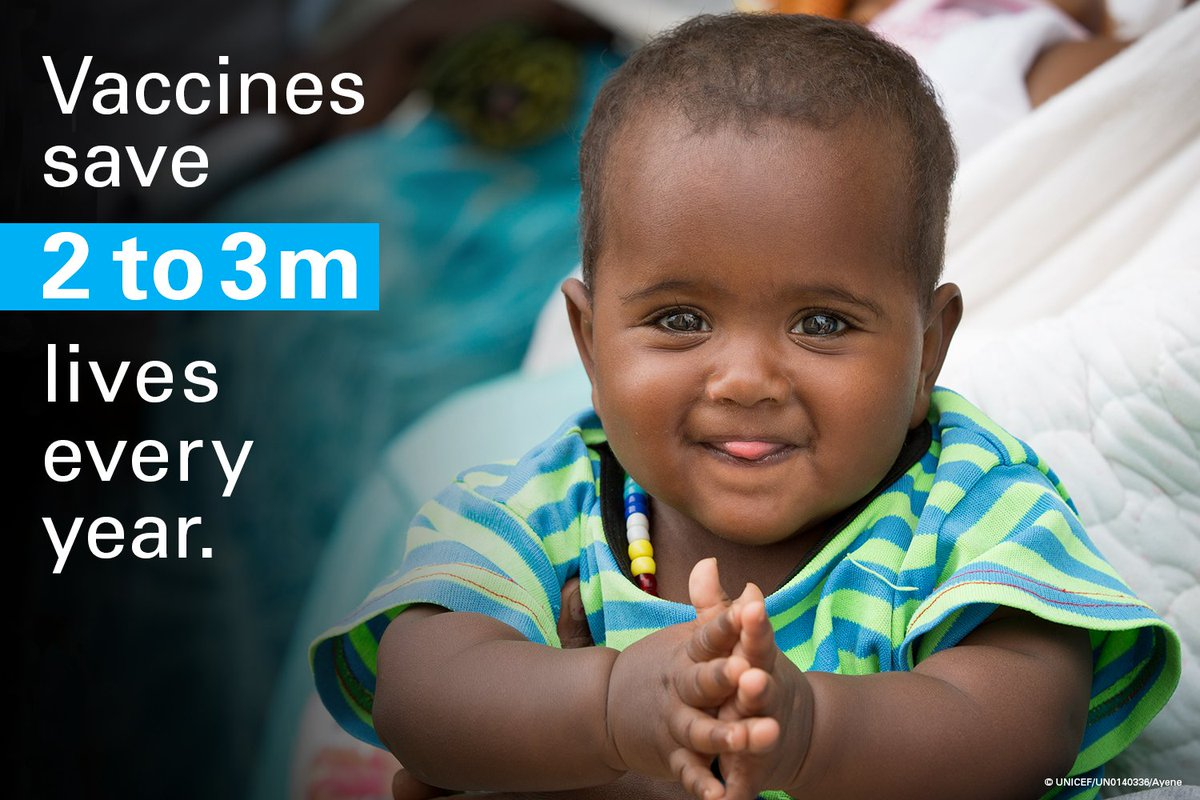 We procured 2.44 billion doses of vaccines for children in 2017. #ForEveryChild → uni.cf/results