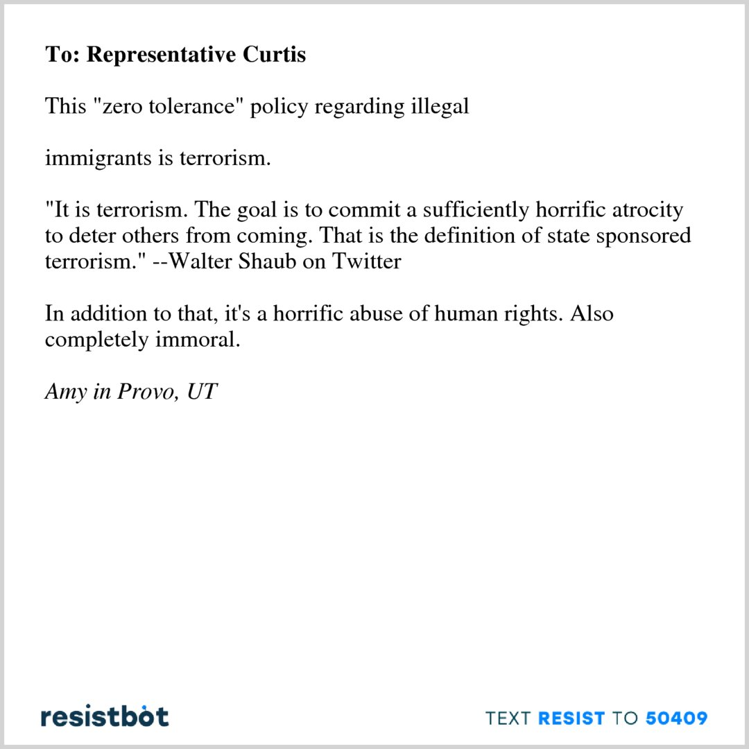 """resistbot open letters on twitter: """"here's an open letter from amy"""