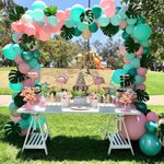 """29 Likes, 1 Comments - InstaParty (@instaparty_1) on Instagram: """"#Repost @bizziebeecreations ・・・ Let's Flamingle Party! Candy Dessert Table by @bizziebeecreations,…"""" This fantastic party idea was featured today on https://t.co/2n0L40LUCS! #partyideas #party #birthdayparty …"""