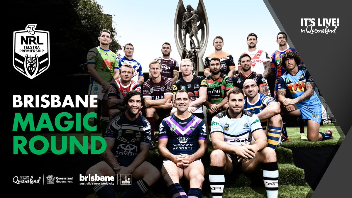 Image result for 2019 NRL Magic Round Brisbane