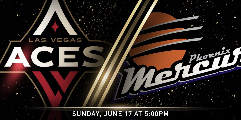Vegas, were coming home 😌 Round ✌️ against the @PhoenixMercury See you all this Sunday, 5 PM at The House @MandalayBay 🎟 aceslv.co/Lemctu #ALLIN #LVAces ♦️♠️🏀