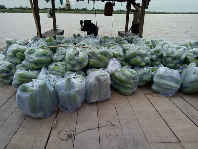 20kgs = USD this is reason that cambodia farmer ended poorer and poorer--work so hard but at the end need to sell their land to get money to back to the miscro finance--kingdom of wonder--yes we can--make u poorer ภาพถ่าย