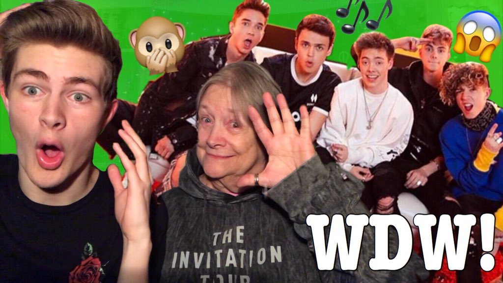 "NEW YOUTUBE VIDEO! ""My Granny Reacts To @whydontwemusic ""  https:// youtu.be/Jpwmla0mhp4  &nbsp;   HOPE YOU ENJOY! RT? :D #HookedVideo <br>http://pic.twitter.com/B6VZELMC4q"