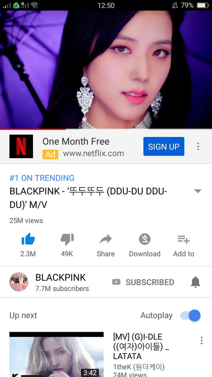 NUMBER 1 TRENDING!!!! WOOT WOOT #BLACKPINK #POWEROFBLINKS