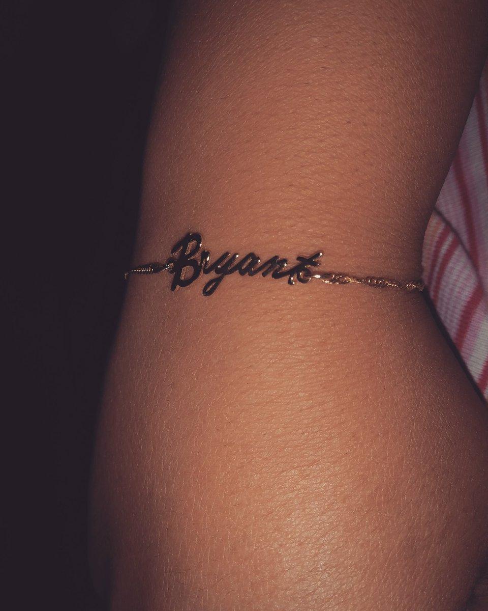 Boo's name on ma wrist 💙