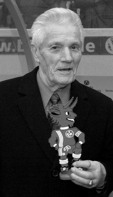 Heute vor fünf Jahren verstarb mit Weltmeister Ottmar Walter eine der größten Legenden unseres Vereins. Ottes, wir sind in Gedanken stets bei Dir! Foto