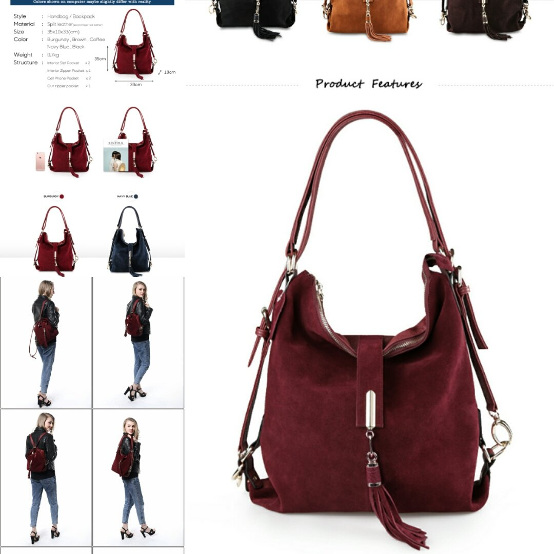 ae9a09c65b ... women-real-split-suede-leather-shoulder-bag -female-leisure-nubuck-casual-handbag-hobo-messenger-top-handle-bags- 21369  …