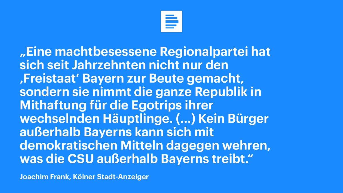 Der sogenannte Masterplan für Migration der CSU sei desaströs für das gesellschaftspolitische Kli…