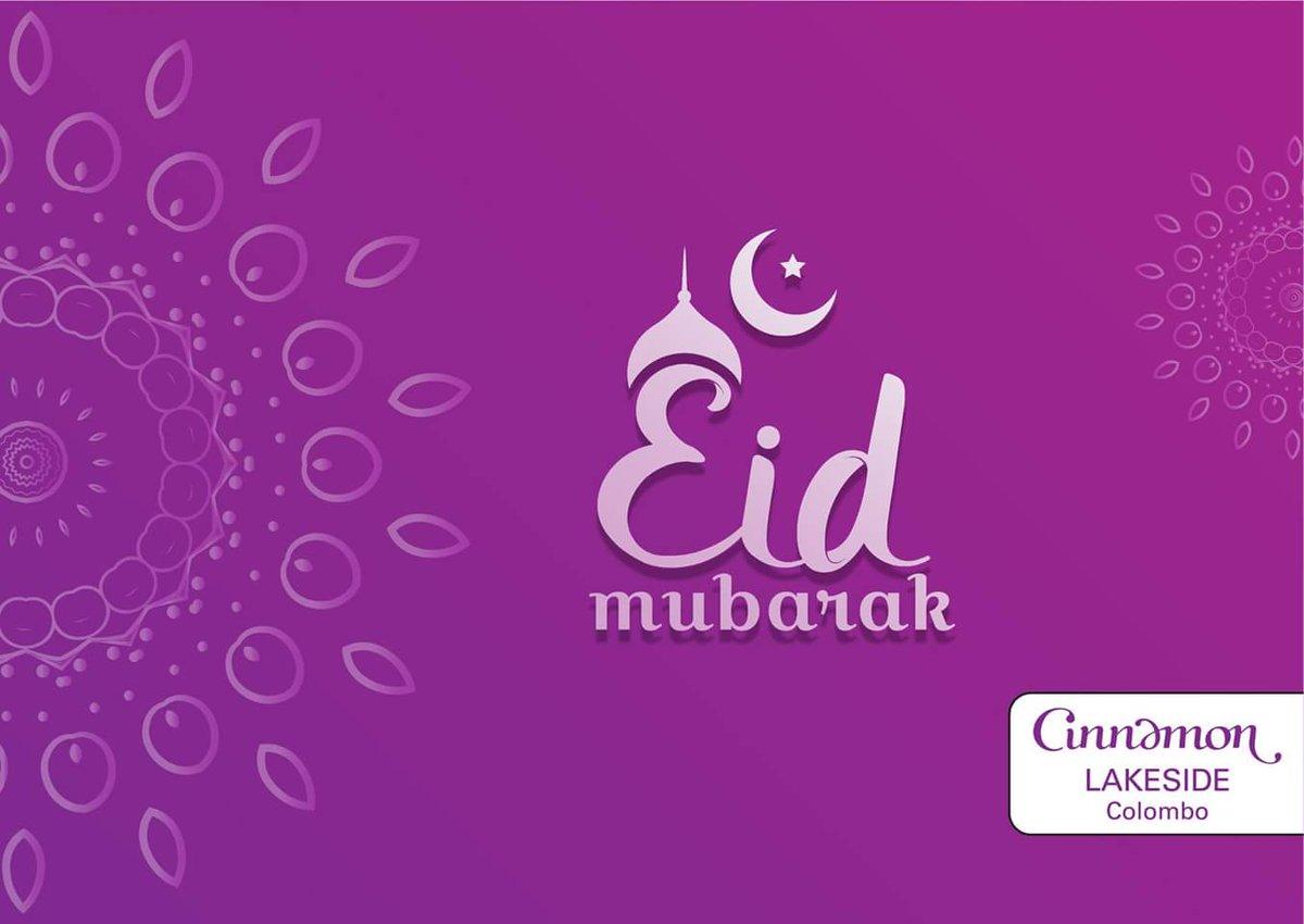 Eid Mubarak from Cinnamon Lakeside Colombo!  #Eid #CinnamonLakeside #ColomboHotels #Colombo https://t.co/qy59tR6yfp