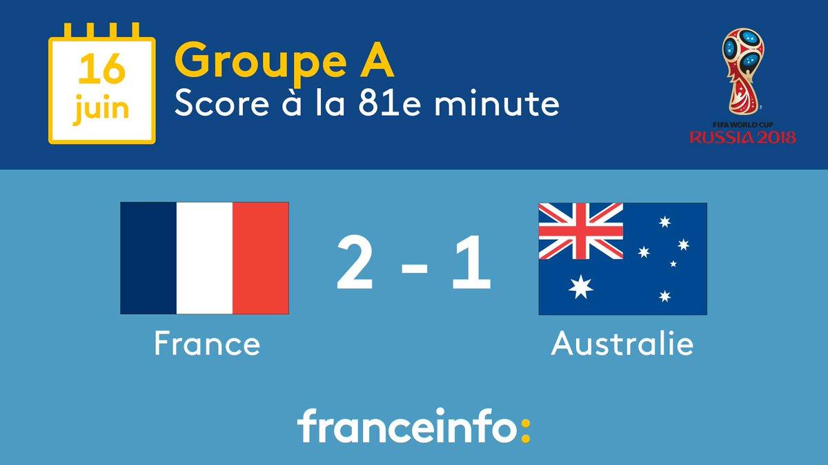 #CM2018 #FRAAUS 2e but pour la France grâce à Paul #Pogba Suivez les dix dernières minutes du match  https:// www.francetvinfo.fr/sports/foot/coupe-du-monde/coupe-du-monde-2018-direct-france-australie-match-streaming-minute-par-minute-tf1-bein-video-radio-mondial-griezmann-mbappe-pogba_2804737.html  - FestivalFocus