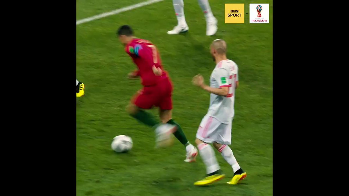 Did that really happen last night?!!!  Yes, yes it did...  #PORESP #worldcup #bbcworldcup