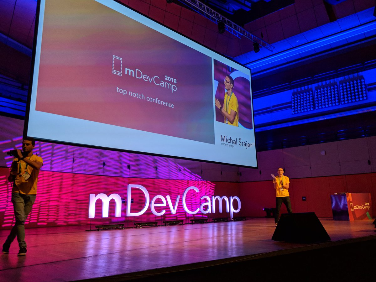 About to leave Prague ✈️ I really enjoyed speaking about @Firebase at @mDevCamp 🔥 The event was very well organized, full of amazing sessions and excellent speakers, super dynamic organizers and wonderful attendees 👏 Will definitely come back in the future!