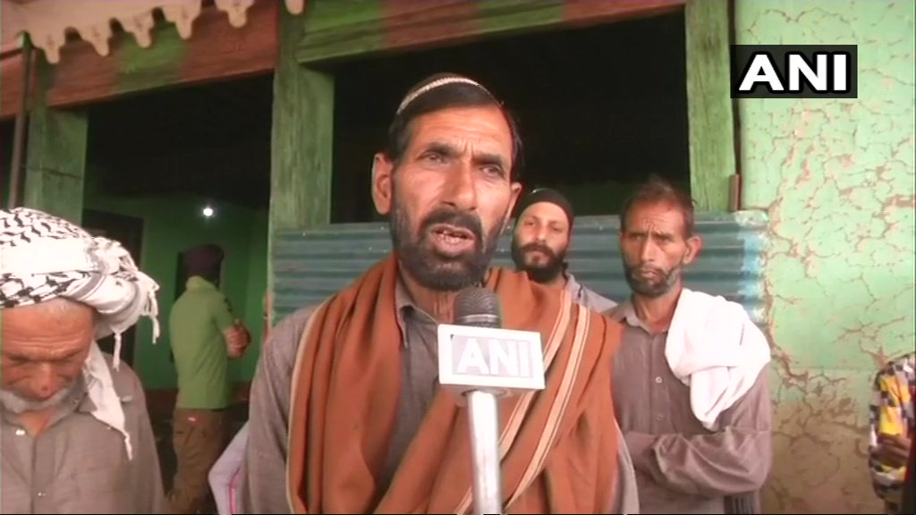 My son has abided by his pledge, he has kept his promise. He sacrificed himself for the nation and came back to me. I request the central & state govts to eliminate militancy: Mohd Hanif, father of rifleman Aurangzeb