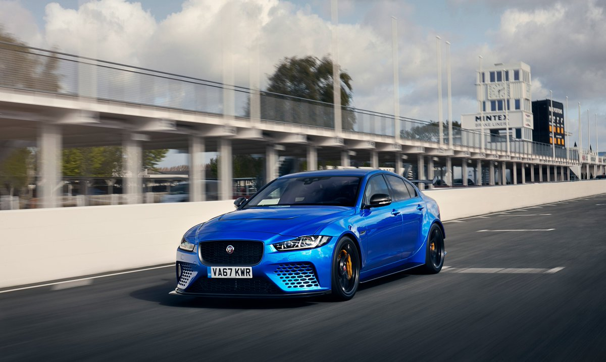 Bound by only one limit. No more than 300 will ever be made. #Jaguar #XE #Project8: ow.ly/Grx330kmL70